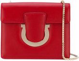 Salvatore Ferragamo Gancio clutch bag - women - Leather/metal - One Size