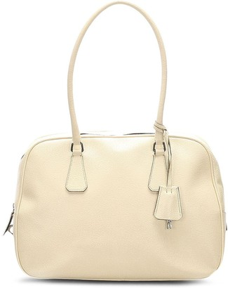 Prada Pre-Owned Key Fob Zipped Tote Bag