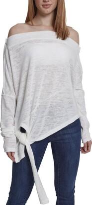 Urban Classics Women's Asymmetric Sweater