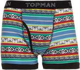Topman Bright Aztec all over pattern underwear