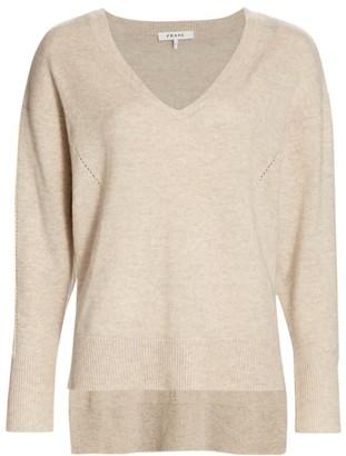 Frame Deep V-neck Sweater