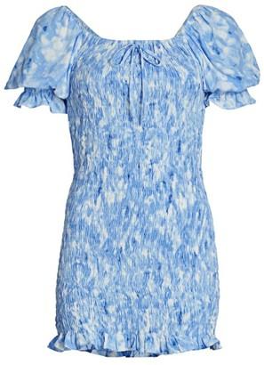 Faithfull The Brand Magnolia Mini Dress