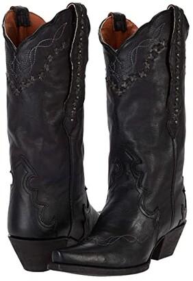 Dan Post Amore (Black Leather) Women's Boots