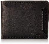Fossil Men's Ingram Sliding 2-In-1 Wallet, Black, One Size