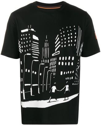 Paul Smith night scene print T-shirt