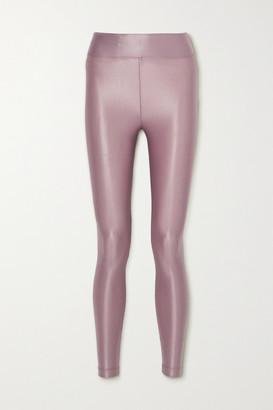 Koral Lustrous Stretch Leggings - Lilac