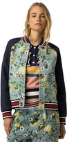 Tommy Hilfiger Floral Varsity Jacket