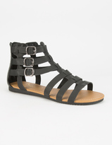 CELEBRITY NYC Strappy Buckle Womens Gladiator Sandals