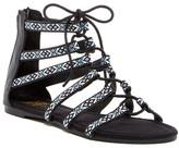 Muk Luks Woven Gladiator Sandal