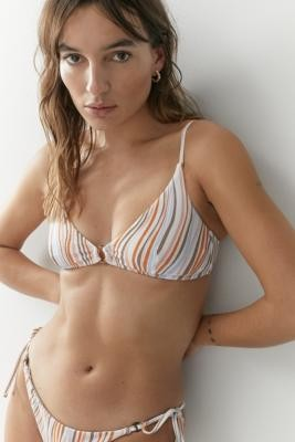 MinkPink Waverly Scoop Bikini Top - Assorted XS at Urban Outfitters