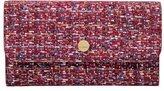 Lodis Women's Tweetable Tweed RFID Cami Clutch Wallet