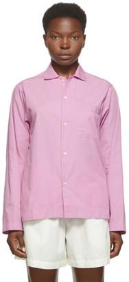Tekla Pink Pyjama Shirt