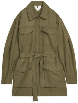 Arket Flowy Workwear Jacket
