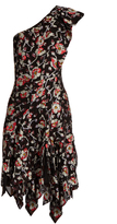 Isabel Marant Parlam silk-blend floral fil coupé dress