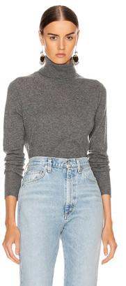 Equipment Delafine Turtleneck Sweater in Heather Grey | FWRD