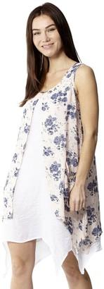 M&Co Izabel layered tunic dress