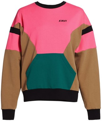 Kirin Colorblock Fleece Sweatshirt