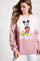 Forever 21 FOREVER 21+ Mickey Mouse Sweatshirt