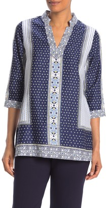 Foxcroft Angelica 3/4 Length Sleeve Wrinkle Free Shirt