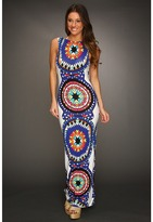 Mara Hoffman Backless Column Dress (Pow Wow White) - Apparel