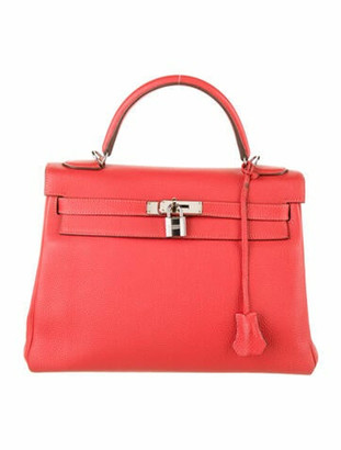 Hermes Clemence Kelly 32 Rouge