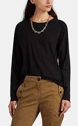 Nili Lotan Women's Cotton Baseball T-Shirt - Black