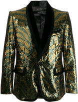 Marc Jacobs sequin tiger blazer - men - Cotton/Polyamide/Polyester/Viscose - 50