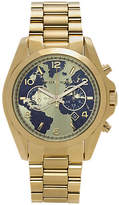 Michael Kors Watch Hunger Stop Oversized Bradshaw 100 Gold-Tone Watch