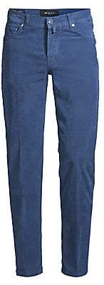 Kiton Men's Slim-Fit Stretch-Cord Pants