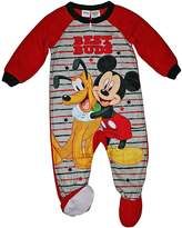 Disney Mickey Mouse & Pluto Best Buds Footed Pajamas Blanket Sleeper (t)