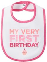 "Carter's Baby Girl My Very First Birthday"" Bib"