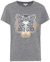 Kenzo T-shirt en coton imprimé