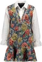 Sister Jane BAROQUE BLUES PINAFORE Summer dress multicolor