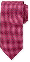 Eton Micro-Neat Silk Tie, Red