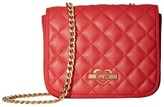 Love Moschino Quilted Crossbody Chain Strap Cross Body Handbags