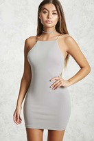 Forever 21 Square-Neck Bodycon Dress