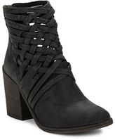 Free People Carrera Woven Leather Ankle Boots