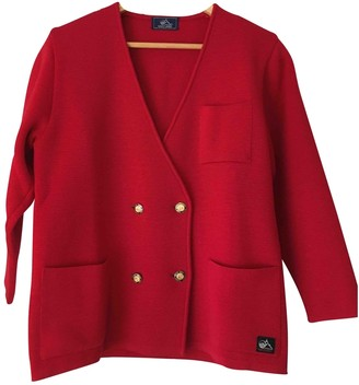Saint James Red Wool Jacket for Women