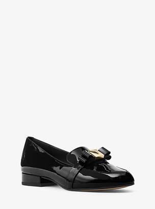 Michael Kors Caroline Patent Leather Loafer