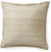 Ralph Lauren Mulholland Drive Collection Dayton Metallic Silk Square Feather Pillow
