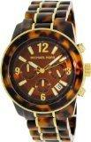 Michael Kors Men's MK5805 Two-Tone Resin Quartz Watch with Dial