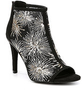 Kenneth Cole Reaction Starburst Embroidered Smash Time Booties