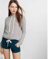 Express One Eleven Plush Jersey Shorts