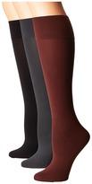 Hue Simply Skinny Knee Socks 3-Pack