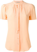 Etro tied neck buttoned blouse