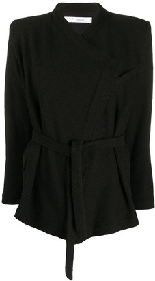 IRO Knitted Belted Jacket