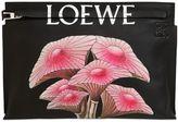 Loewe Mushroom Printed Leather Pouch