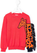 Paul Smith fringed giraffe jumper