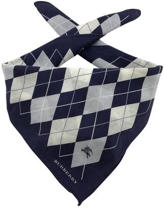 Burberry Other Cotton Scarves & pocket squares