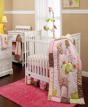 Carter's Jungle Collection 7-Piece Crib Bedding Set Bedding